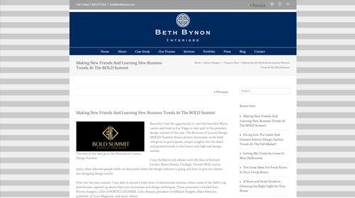 Beth Bynon Interiors