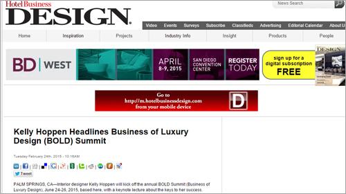 Hotel Business Design